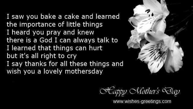 free mother's day messages 2015