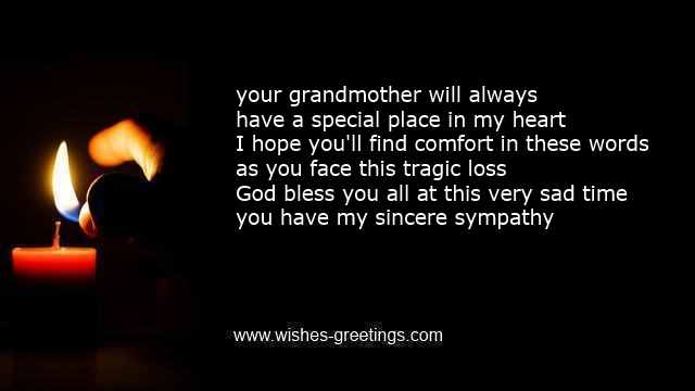 religious quotes death grandmother