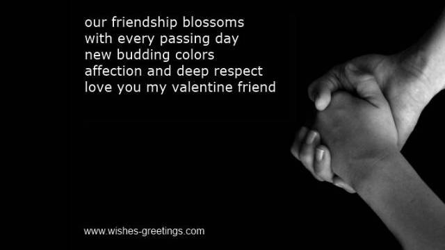 valentine cards quotes for friends friendship valentines messages for kids
